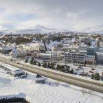 Snjómokstur á Akureyri
